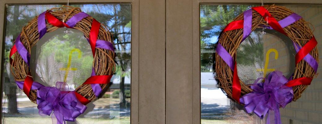 Holy Week Wreaths