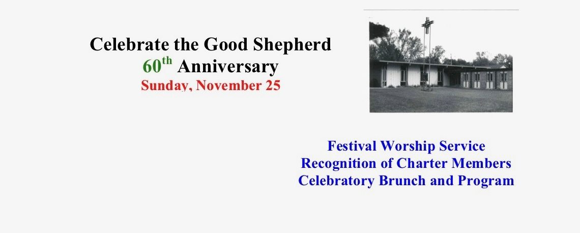 Celebrate Our 60th Anniversary on November 25, 2018
