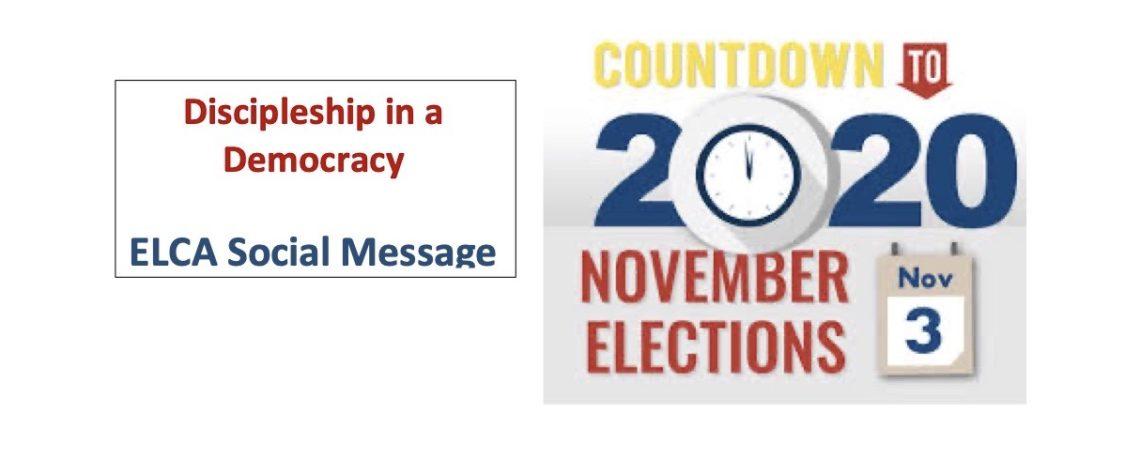 Discipleship in a Democracy