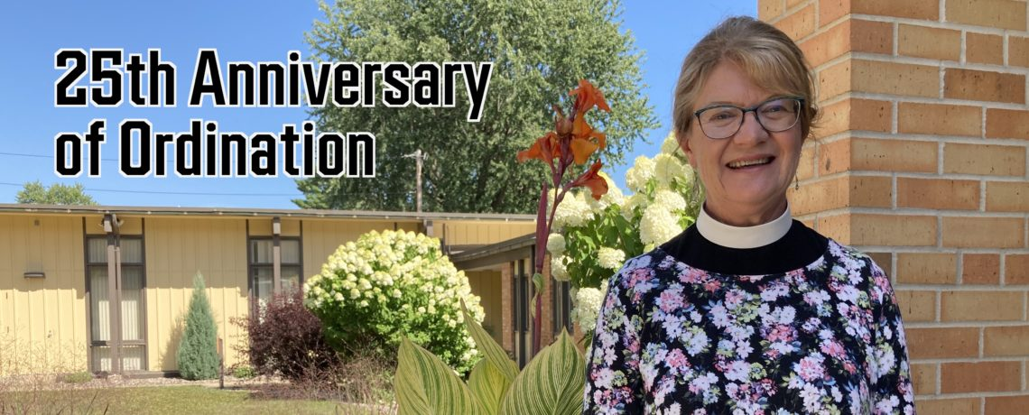 25th Anniversary of Pastor Marion's Ordination – January 21, 2021