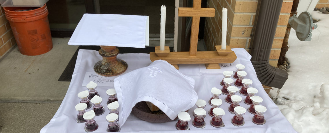 Holy Communion Opportunities During February 2021
