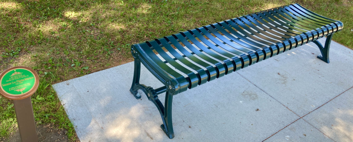 Suzanne Pilgrim Kittelson Memorial Benches