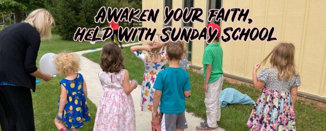 Sunday School Helpers Needed